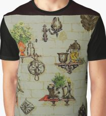 Baby Boomer Memories of a VERY Kitschy Kitchen Graphic T-Shirt