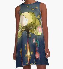 Automne A-Line Dress