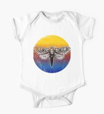 Moth Silhouette, Love Entomology and Insects Kids Clothes