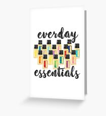 Everyday Essentials Greeting Card