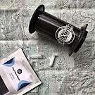 Coffee and Maps Series: Third Wave Water & Aeropress by bikehikebrew