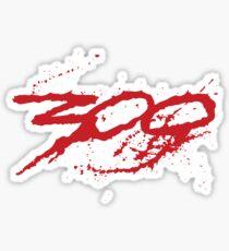 300 SPARTAN Sticker