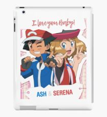 I love you Baby! (Amourshipping) iPad Case/Skin