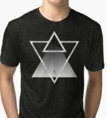 Numbered Triangles Tri-blend T-Shirt