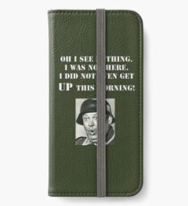 Sgt Schultz Hogan's Heroes iPhone Wallet/Case/Skin