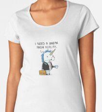 Need a break Premium Scoop T-Shirt