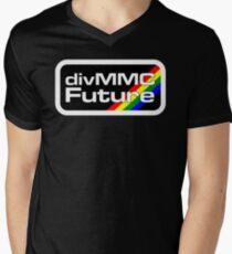 divMMC Future logo V-Neck T-Shirt