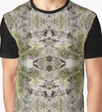 Lichen on tomb in Shalwy Valley, Kilcar, Donegal Graphic T-Shirt
