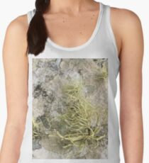 Lichen on tomb in Shalwy Valley, Kilcar, Donegal Women's Tank Top