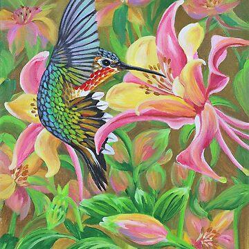Anna's Hummingbird 2 by janegirardot