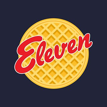 Eleven Eggos - Stranger Things by mongolife