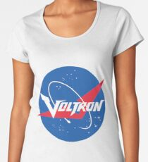 Voltron Nasa Logo Women's Premium T-Shirt