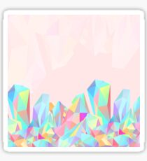 Crystallized, colorful Sticker