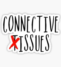 Connective Issues Sticker
