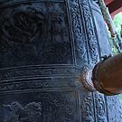 Japanese Monastery Bell by Michael McCasland