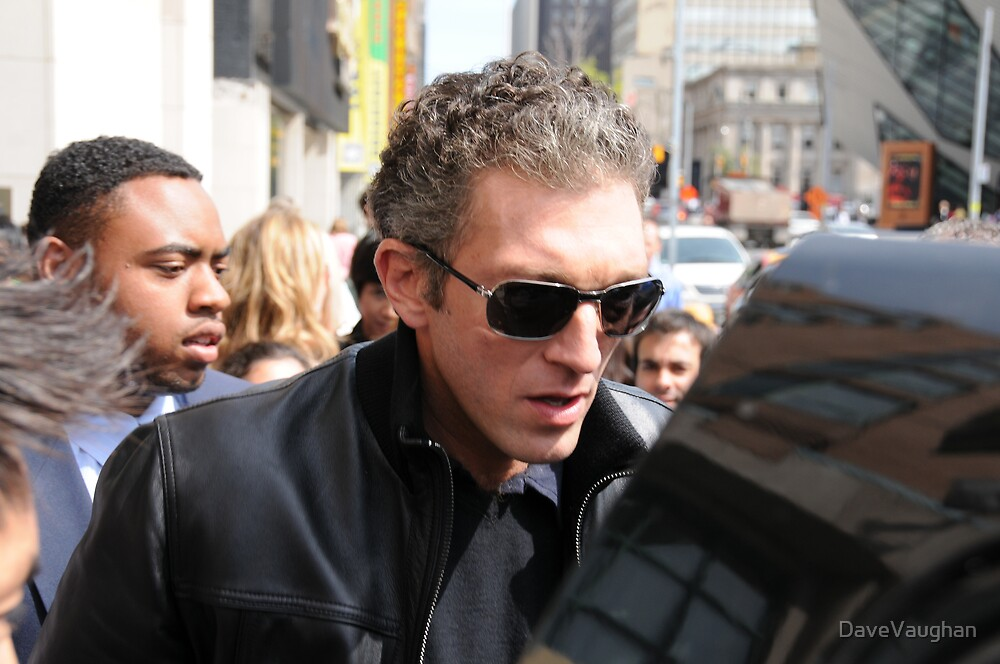 Vincent Cassel  by DaveVaughan