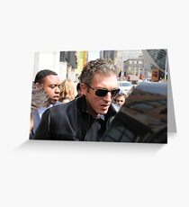 Vincent Cassel  Greeting Card