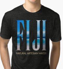 FIJI WATER Tri-blend T-Shirt
