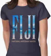 FIJI WATER Womens Fitted T-Shirt