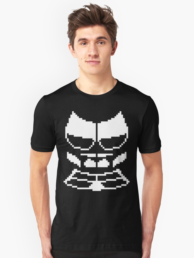 Greater Dog Pixel Armor Unisex T-Shirt Front