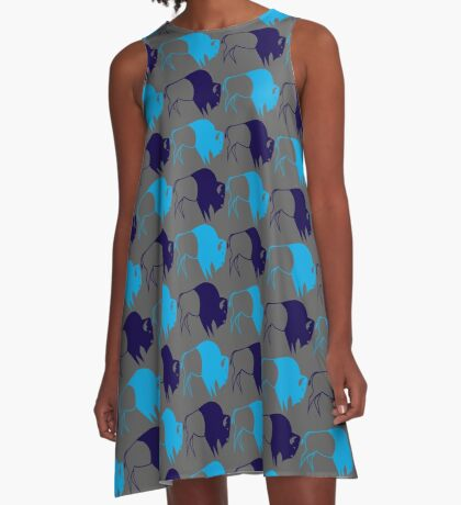 Buffalo Spirit A-Line Dress