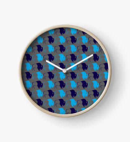 Buffalo Spirit Clock