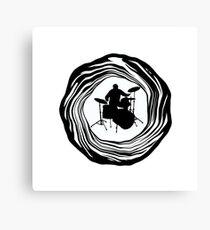 Drum Roll Canvas Print
