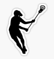 Girls Lacrosse  Sticker
