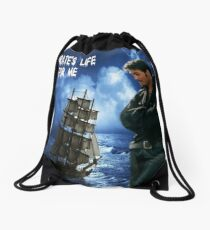 Killian Jones~ A Pirate's Life For Me Drawstring Bag