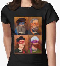 The Renaissance Ninja Artists Women's Fitted T-Shirt