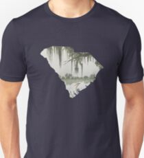 South Carolina Cutout:  Magnolia Plantation Unisex T-Shirt