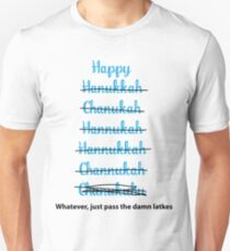 Happy Hanukkah! Unisex T-Shirt