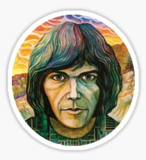 Neil Young Self Titled  Sticker