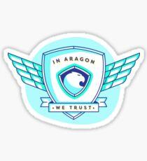 Aragon Network Sticker