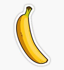 Cartoon Banana Sticker