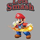 Mario Smash Bros by Lfcjdp