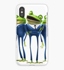 Frogs - Meet the Robinsons iPhone Case/Skin
