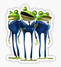 Frogs - Meet the Robinsons Sticker