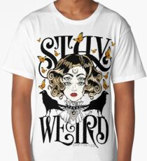 Rose and The Ravens {Stay Weird} Colour Version Long T-Shirt