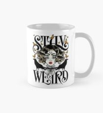 Rose and The Ravens {Stay Weird} Colour Version Mug