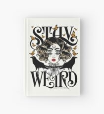 Rose and The Ravens {Stay Weird} Colour Version Hardcover Journal