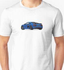 Audi R8 Sports Blue T-Shirt