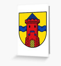Delmenhorst Coat of Arms, Germany Greeting Card