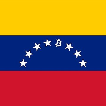 Venezuela Bitcoin Flag by psmgop