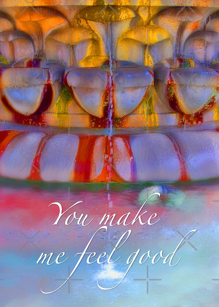 You make me feel good by monica palermo