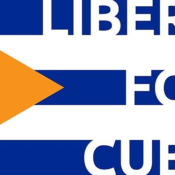 Cuba Bitcoin Flag Liberty by psmgop