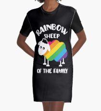 sheep Graphic T-Shirt Dress