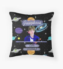 Jungkook Throw Pillow
