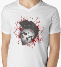 Mohawk Punked Skull T-Shirt
