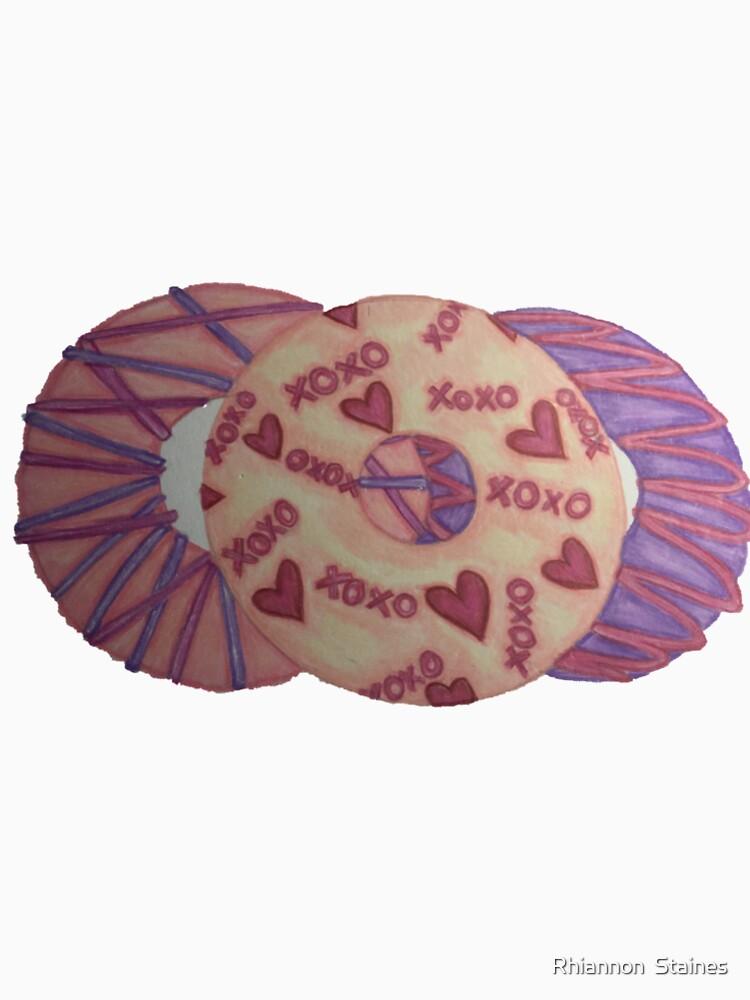 Valentinsgrüße Donut von artbyrhirhi